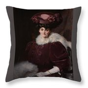 Lady Lindsay Throw Pillow