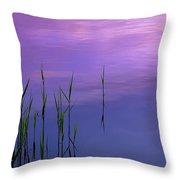 Lake Illmensee Throw Pillow