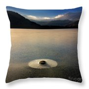 Lake In Auvergne Throw Pillow by Bernard Jaubert