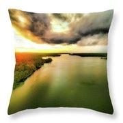 Lake Jordan Throw Pillow