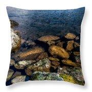 Lake Ogwen Throw Pillow