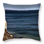 Lake Ontario At Sodus Bay Throw Pillow