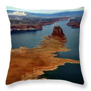 Lake Powell Throw Pillow