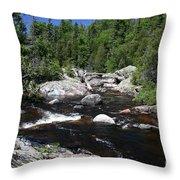Lake Superior Provincial Park Throw Pillow