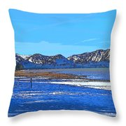 Lake Tahoe Throw Pillow