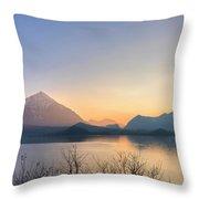 Lake Thun - Switzerland Throw Pillow