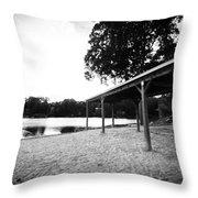 Lake Waubeeka  Throw Pillow