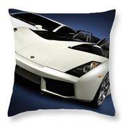 Lamborghini Super Cars Throw Pillow