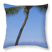 Lanai, Manele Bay Throw Pillow