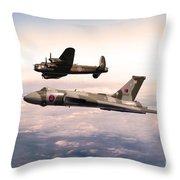 Lancaster And Vulcan Throw Pillow