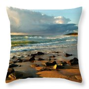 Landscape Drawing Throw Pillow