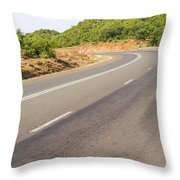 Landscape In Tanzania Throw Pillow