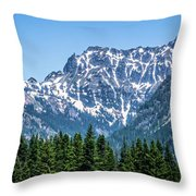 Landscape Nature Scenes Around Columbia River Washington State A Throw Pillow