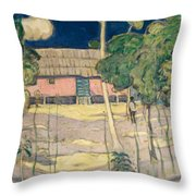 Landscape Trinidad Throw Pillow
