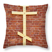 Lappeenranta Fortress Orthodox Church Throw Pillow