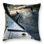 Las Vegas Strip 0280 Throw Pillow