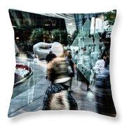Las Vegas Strip 0304 Throw Pillow