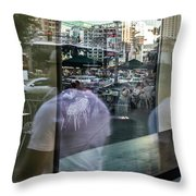 Las Vegas Strip 0312 Throw Pillow