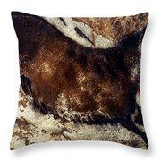 Lascaux: Horse Throw Pillow