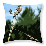 Last Straw Throw Pillow