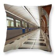 Last Train Home Throw Pillow