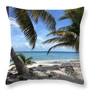 Laughing Bird Caye Throw Pillow