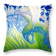Launch With Abandon Throw Pillow