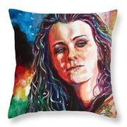 Laura Jane Grace Throw Pillow