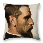 Laurits Andersen Ring Throw Pillow