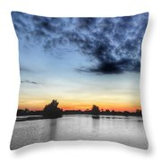 Layered Color Throw Pillow