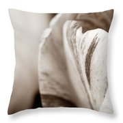Layers Of Tulips Throw Pillow