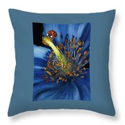 Lazuline Throw Pillow