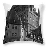 Le Chateau Throw Pillow