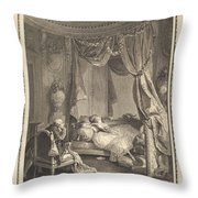 Le Roman Dangereux Throw Pillow