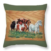 Leaders Throw Pillow