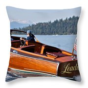 Leading Lady Throw Pillow