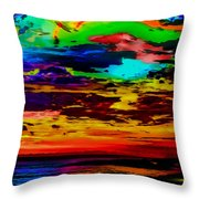 Leave No Colors Behind Throw Pillow