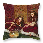 Leisure Hours Throw Pillow