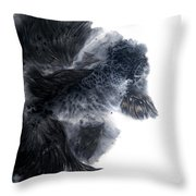 Leisurely And Carefree I Throw Pillow