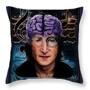 Lennon's Legacy Throw Pillow