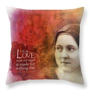 Let Us Love II Throw Pillow
