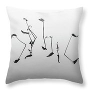 Lets Dance Again Throw Pillow