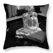 Letterman By Coy Throw Pillow