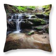 Leura Cascades - Blue Mountains, Australia. Throw Pillow