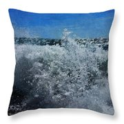 Levant Spray Throw Pillow by Julian Perry