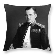 Lewis Chesty Puller Throw Pillow