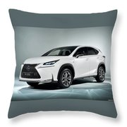 Lexus Nx 300h F Sport 2014 1920x1200 010 Throw Pillow