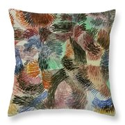 Libido Of The Forest Throw Pillow
