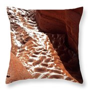Light And Shadow In Mud Throw Pillow