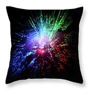 Light Burst-1 Throw Pillow